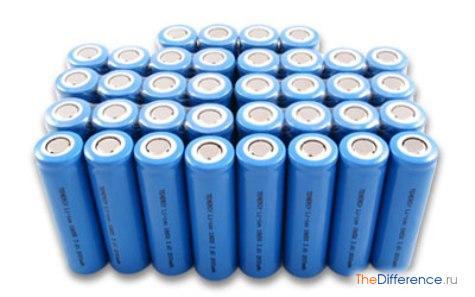 чем отличается литий-полимерный от литий-ионного аккумулятора