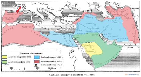 чем отличаются персы от арабов