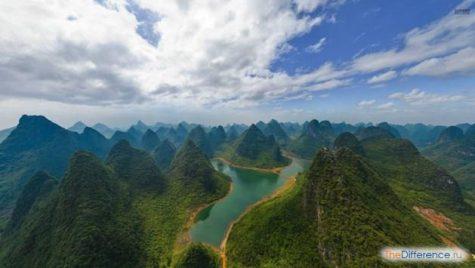 отличие по природным особенностям Монголии от Китая