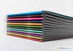 Разница между буклетом и брошюрой