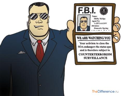 чем отличается ЦРУ от ФБР