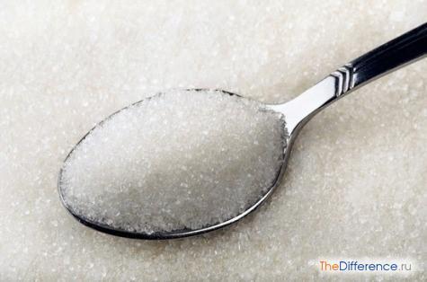 чем отличается сахар от соли