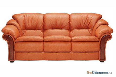 отличие софы от дивана