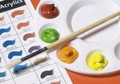 Разница между акриловыми и масляными красками