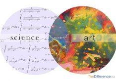 Разница между искусством и наукой