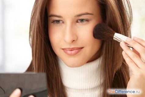 разница между визажом и макияжем