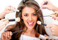 Разница между визажем и макияжем