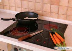 Разница между индукционной плитой и стеклокерамикой