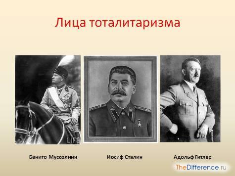 разница между авторитарным режимом и тоталитарным, отличие авторитарного режима от тоталитарного