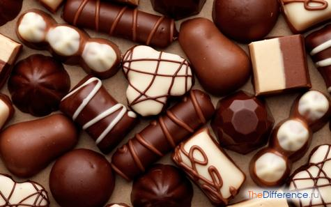 чем отличаются конфеты от карамели