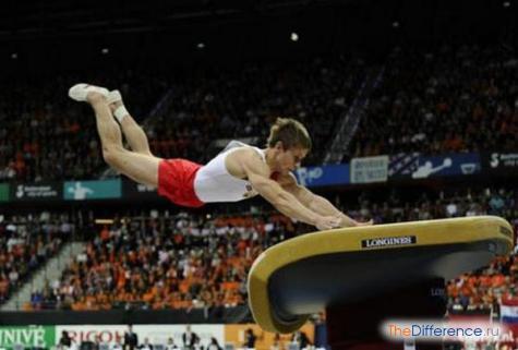 отличие гимнастики от акробатики