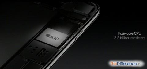 разница между iPhone 7 и iPhone 6s