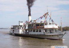 Разница между пароходом и теплоходом