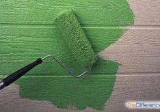 Разница между акриловыми и водоэмульсионными красками