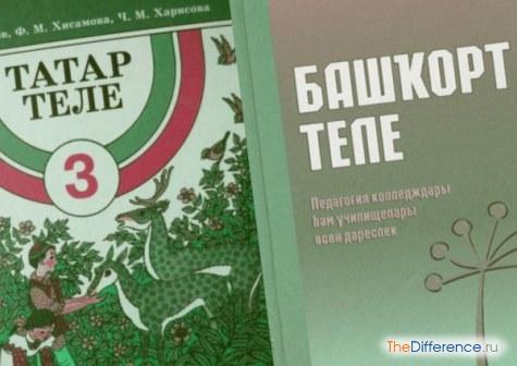 Чем отличаются башкиры от татар