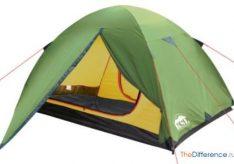 Разница между туристическими и кемпинговыми палатками