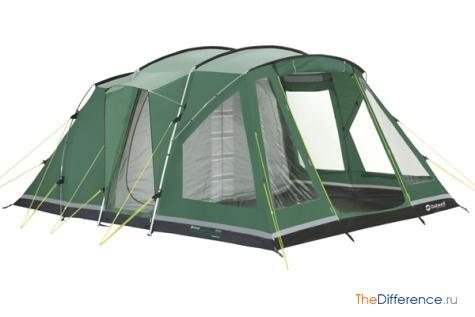 отличие туристических палаток от кемпинговых
