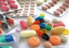 Разница между антибиотиком и антисептиком