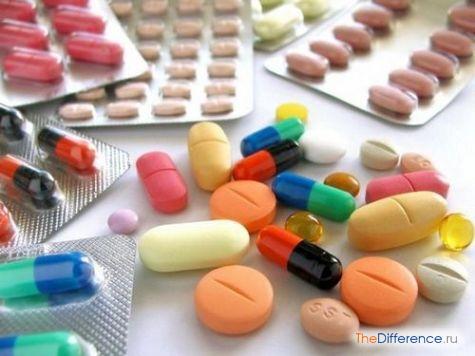 чем отличается антибиотик от антисептика