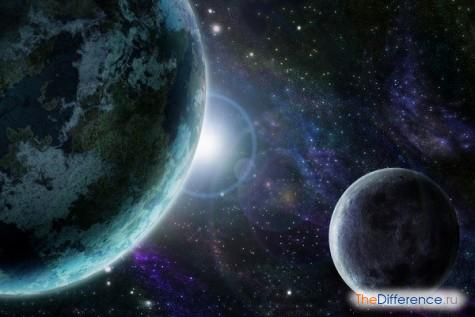 чем отличается космос от вселенной
