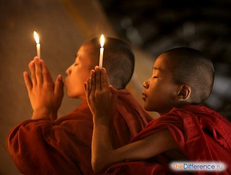 отличие буддизма от христианства