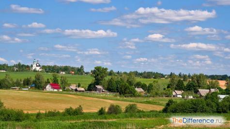 отличие городского образа жизни от сельского