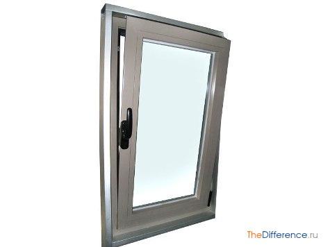 разница между пластиковыми окнами и алюминиевыми