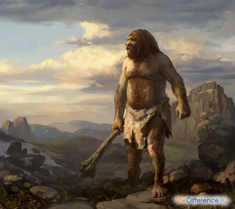 разница между современным человеком и древним человеком