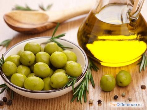 чем отличается оливковое масло от подсолнечного масла