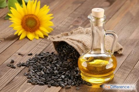 отличие оливкового масла от подсолнечного масла