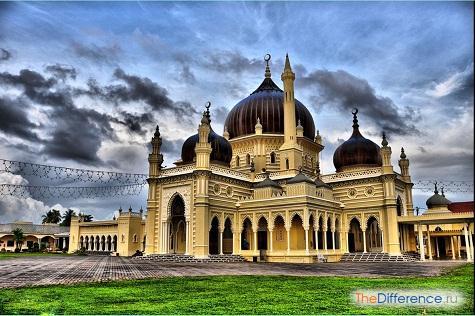 отличие мечети от храма