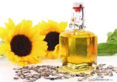 Разница между рафинированным и нерафинированным маслом