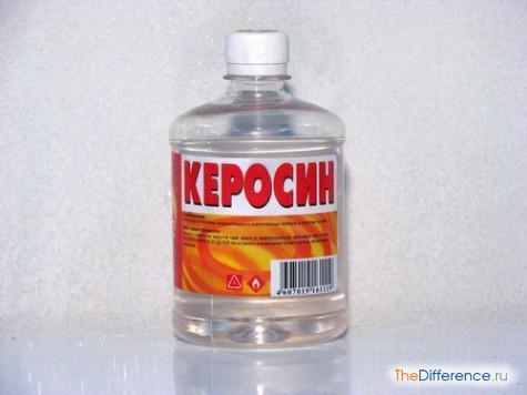 отличие бензина от керосина
