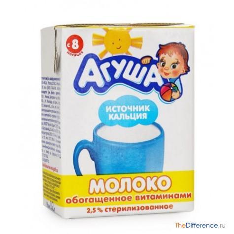 чем отличается детское молоко от обычного