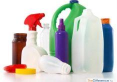 Разница между пластиком и пластмассой