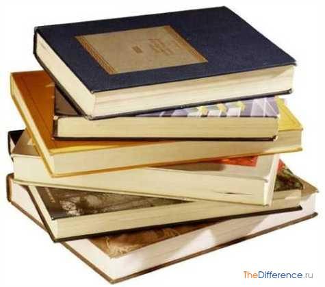 чем отличаются источники от литературы