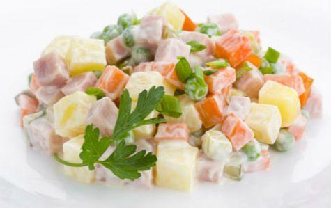разница между оливье и зимним салатом